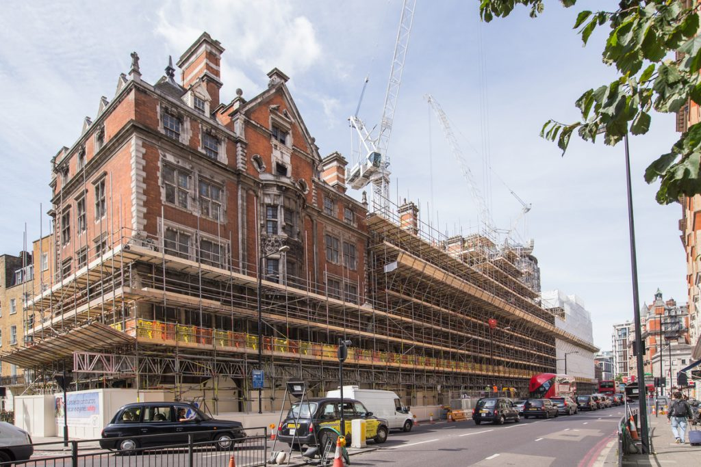 TRAD Scaffolding Knightsbridge London