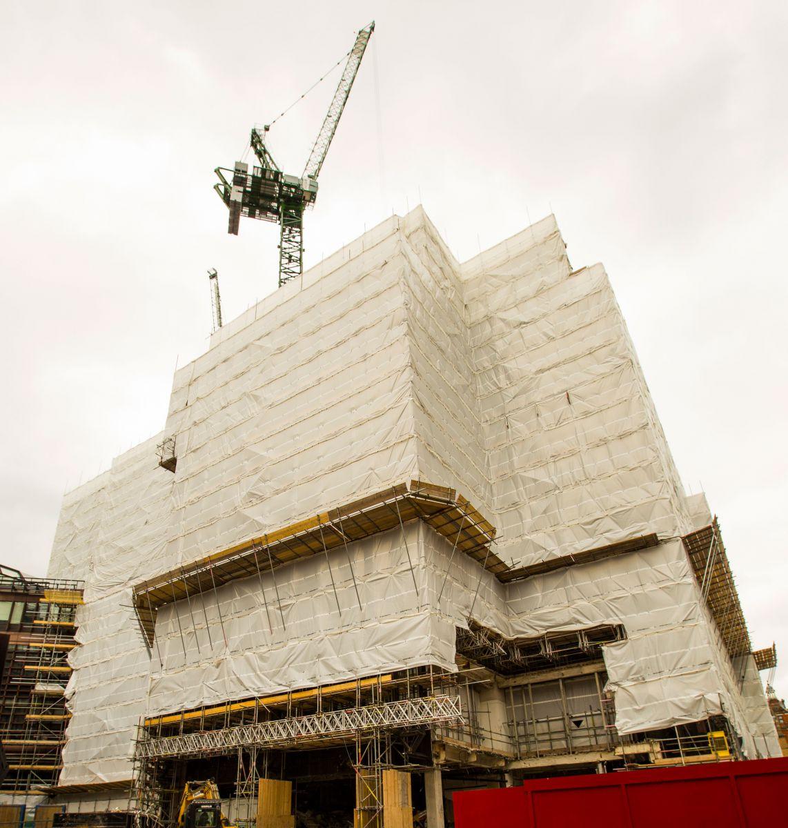 TRAD Scaffolding Liverpool Street London
