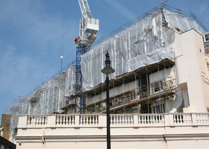 TRAD Scaffolding London Grovesnor Crescent