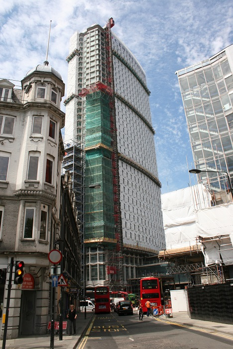 TRAD Scaffolding Centre Point London