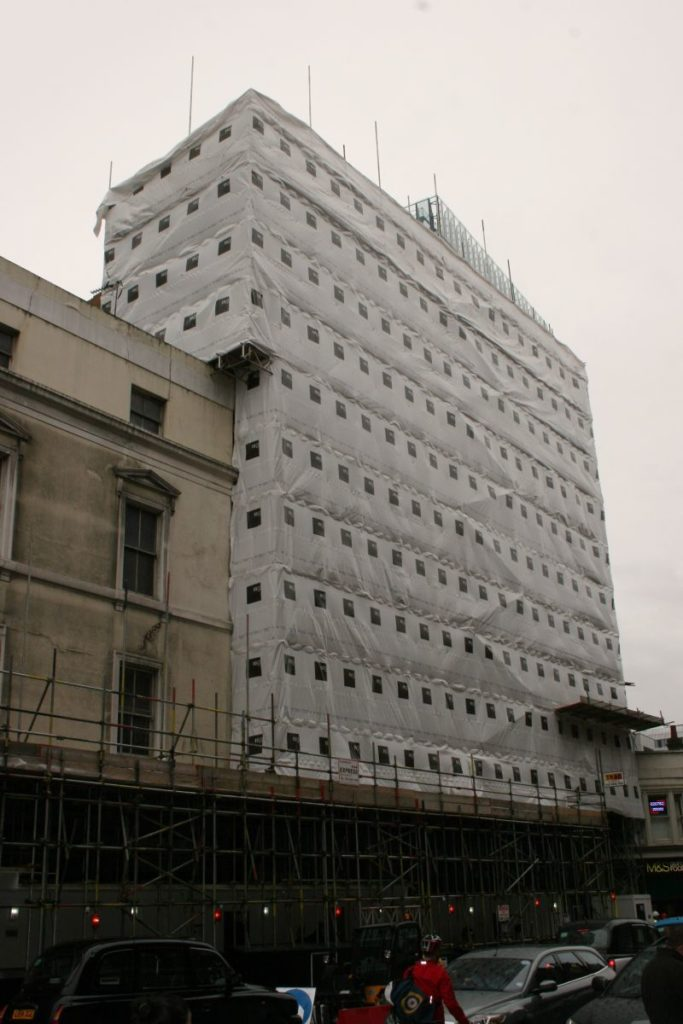 TRAD Scaffolding Aldermans House London
