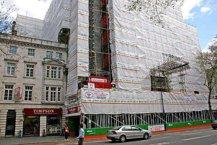 TRAD Scaffolding Africa House London