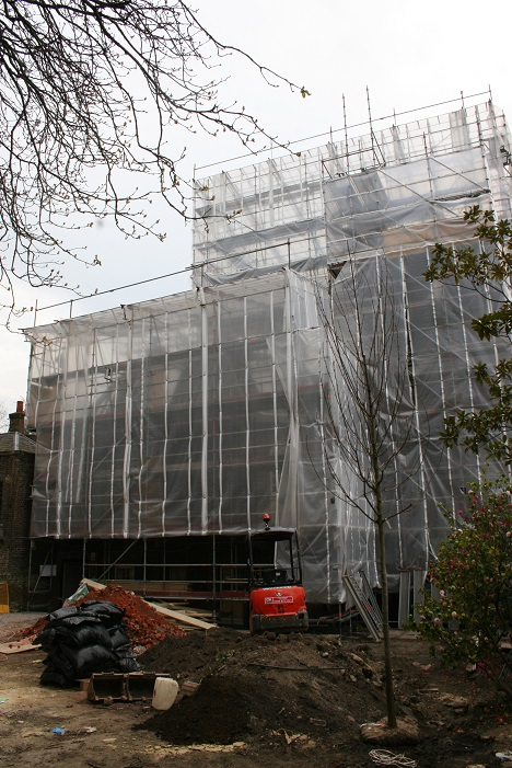 TRAD Scaffolding Cheyne Walk London