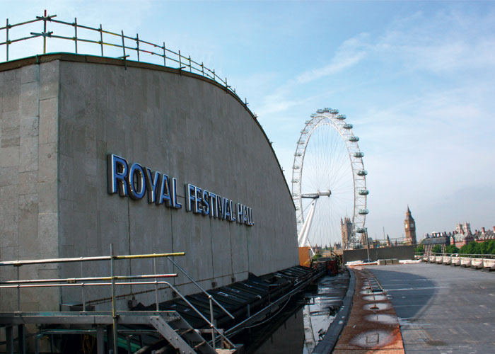 TRAD Scaffolding London Royal Festival Hall