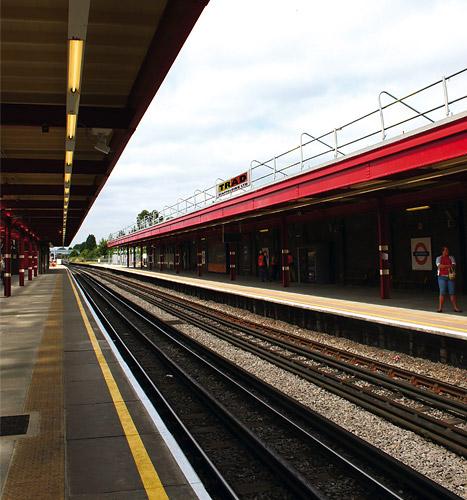 TRAD Scaffolding London Underground
