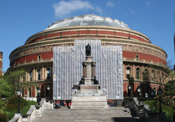 TRAD Scaffolding Royal Albert Hall London