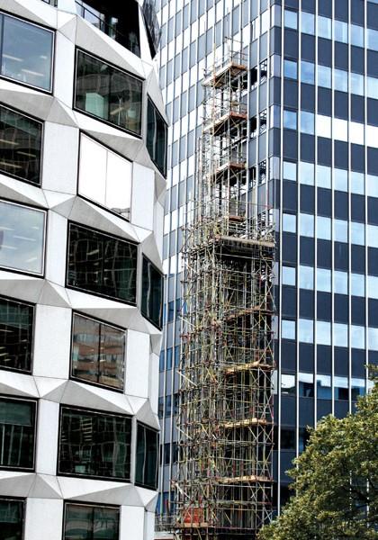TRAD Scaffolding City Tower London
