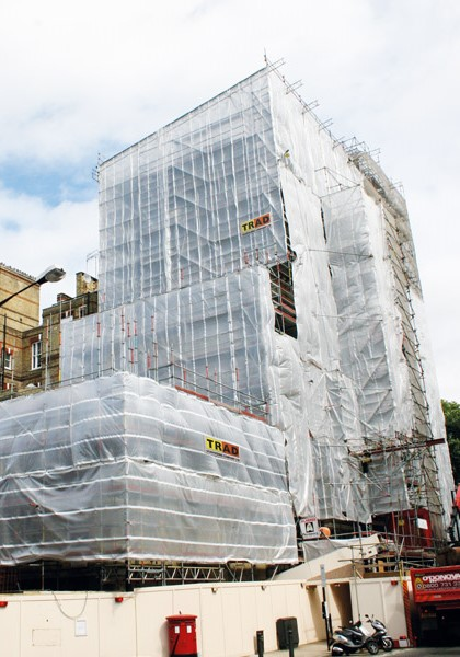 TRAD Scaffolding Grosvenor Place London