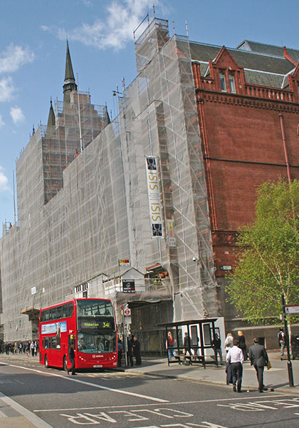 TRAD Scaffolding Holborn Bars London