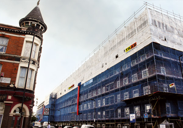 TRAD Scaffolding Nisbet House London