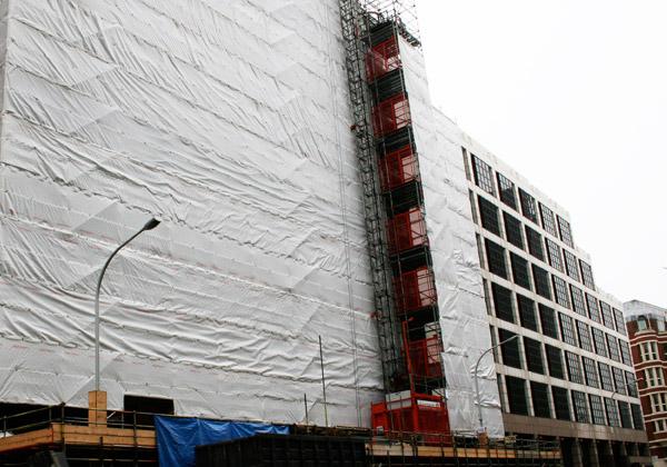 TRAD Scaffolding Victoria Street London