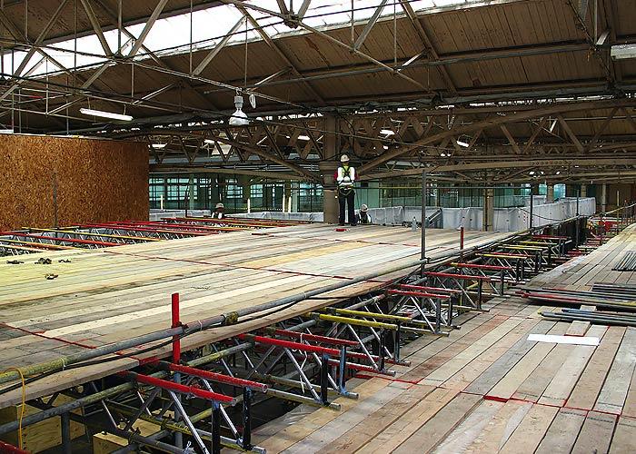 TRAD Scaffolding London Spitafields Market