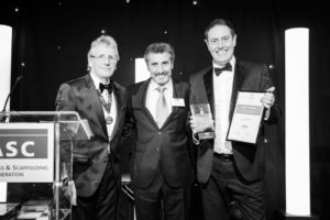 TRAD Scaffolding Award for Project